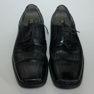 Stacy Adams Lace up Black Leather Shoe